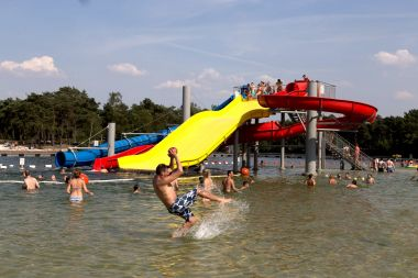 Waterpret zwemvijver Zilvermeer